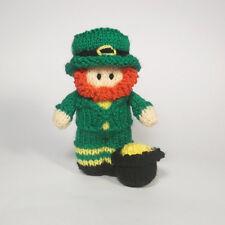 Leprechaun Bitsy Doll Quick Knitting Pattern