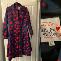 Lindy Bop RARE Hearts Coat Size 14