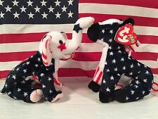 Set of 3 TY Beanie Babies Election RIGHTY & LEFTY