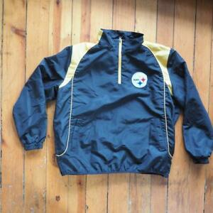 Pittsburgh Steelers NFL Football Jacket Size Mens XL Extra Large
