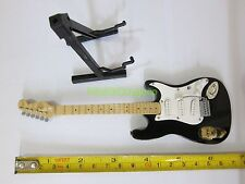 "1/6 Scale Electric Guitar with Stand Hot Instrument for 12"" Action figure Toys"
