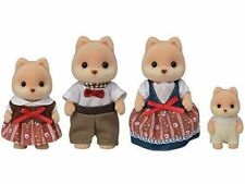 Epoch Sylvanian Families caramel dog family 4905040140609 FS-35 W176xD55xH110