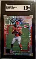 GEM 💎 SGC 10 2017 Patrick Mahomes RC Rookie Donruss #7 The Elite Series 🔥📈