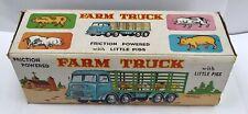 1960s Hong Kong vintage plastic friction Jimson Farm Truck compatible Telsalda