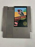 Mach Rider (Nintendo Entertainment System NES) Clean Tested Works GREAT 5-Screw