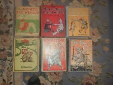 RARE COMPLETE SET OF WONDERFUL WIZARD OF OZ FIRST EDITION, FIRST STATE AUTOGRAPH