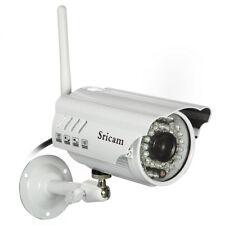 Sricam Wifi Kabellos IP-Kamera Bewegungserkennung Nachtsicht Wasserfest Kamera