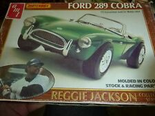 AMT FORD 289 Shelby Cobra Model Car Mountain KIT 1/25 REGGIE JACKSON OPEN