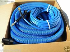 "Carpet Cleaning 50ft VACUUM & SOLUTION HOSES  1.5"" wand cuff"