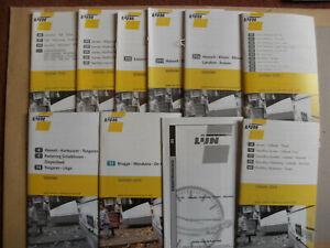 10 Belgian Bus Timetables 2005 - 2006 De Lijn Set 2