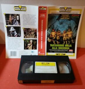 VHS  181. TARTARUGHE NINJA ALLA RISCOSSA