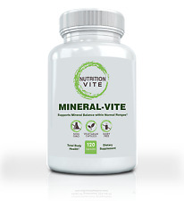 Vitamins and Minerals Dietary Supplement. Supports Total Body Health -120 Caps