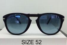 Persol Occhiali da sole Sunglasses 0po0714 95/31 Folding Black Calibro 52.0