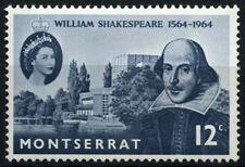 Montserrat 1964 SG#156 William Shakespeare MH #D30161