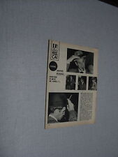 A194 JEAN-PAUL BELMONDO '1962 BELGIAN CLIPPING