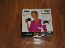 Box for Nikon D3000 Camera 2-Lens Kit Bundle