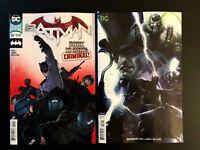 Batman 59 Main Cover + Francesco Mattina Variant Set DC Comics 2018 NM+