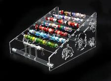 Acrylic 2way Display Expose Pandora Charms Perle Bangle Bijoux Fleur Stand Boîte