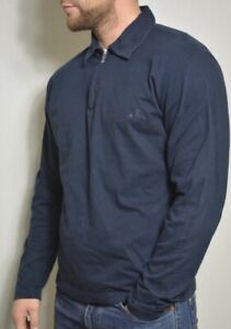Versace Jeans Couture Mens Sweatshirt  Long sleeve Jumper Medusa Size Xl Blue