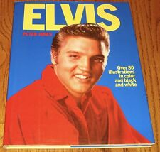 ELVIS HARDCOVER BOOK BY PETER JONES LIMITED EDITION 1976