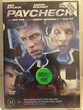 PAYCHECK - BEN AFFLECK. AARON ECKHART (R4 - GOOD) - DVD #286