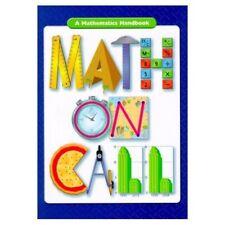 Math on Call: A Mathematics Handbook, Grades 6-8