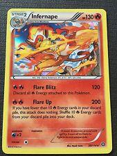 Pokemon : XY STEAM SIEGE INFERNAPE 20/114 RARE HOLO
