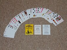 Vintage Gypsy Witch Fortune Telling Playing Cards Complete in Box No. 34