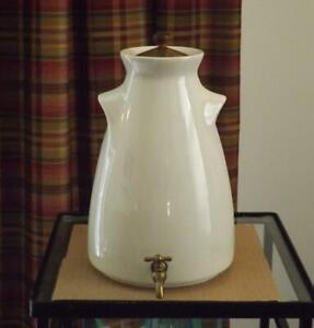 Mid Century Modern Ben Seibel for Gilley Coffee Urn Brass Spigot Teak Knob