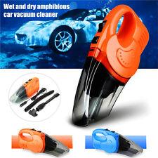 12V-120W Car Interior Vacuum Cleaner Handheld Wet Dry DualUse Dust Dirt Cleaner