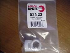 Lot Of 2 Abicor Binzel 53N22 Gasket Insulator New