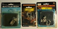Battletech Lot of Miniatures Hetzer Wheeler Assault Guns, Raven, Duan Gung