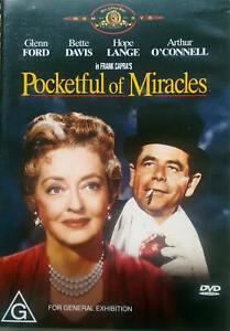 Pocketful Of Miracles (DVD) Glenn Ford / Bette Davis - Region 4 - VGC