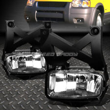 FOR 01-04 FORD ESCAPE CD2 SUV CRYSTAL LENS OE BUMPER DRIVING FOG LIGHT LAMP PAIR