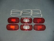 64 Mercury taillight lens set Marauder Monterey Montclair Ford licensed