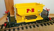 Playmobil LGB Schüttgutwagen P+R gelb Spur G guter sauberer Zustand