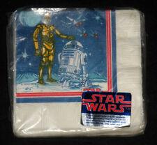 Star Wars Designware Napkins 1977 Sealed MISP Vintage Original