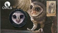 2016 Owls!  Guardians of The Night Medallion Cover 3060/3500