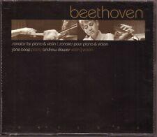 BEETHOVEN Sonatas Piano Violin 2001 Skylark Canada 3cd Coop Dawes autographed NM