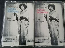 The Complete Sarah Vaughan live in Japan cassette