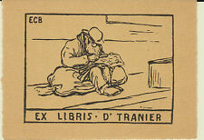 EX-LIBRIS DOCTEUR TRANIER - MARSEILLE (Bouches-du-Rhône) - 20ème siècle