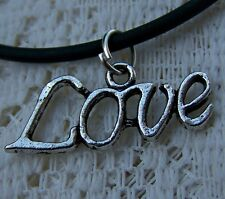 LOVE _ IS _ THE _ WORD --- NECKLACE  -- (GREAT_CHRISTMAS_GIFT)