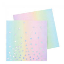 Illume Partyware Iridescent Pastel Cocktail Paper Napkins Party Birthday