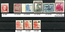 Spain Tangier Tanger 1939 AIR MAILS # 111 to 115 MNH Rest MH
