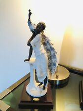 "☆Rare☆ 2002 Retired Giuseppe Armani Figurine ""Opal"" #758F Back Lady Peacock 🦚"