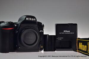 NIKON D750 24.3MP Digital Camera Body Shutter Count 607 Excellent