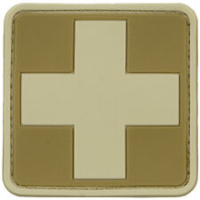 Viper Tactical Military Medic Rubber Patch Army First Aid Sign Tan Coyote