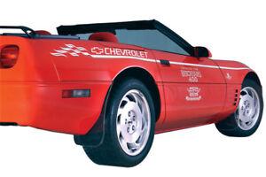 1984-1996 Corvette Splash Guards Smoked Tint Lexan Non ZR1 602272