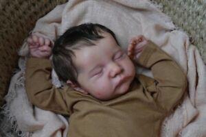 19'' Reborn Baby Doll Soft Full Body Silicone Newborn Real Lifelike Toddler Toys