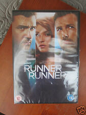RUNNER RUNNER [DVD] - BEN AFFLECK/ JUSTIN TIMBERLAKE - BRAND NEW FACTORY SEALED